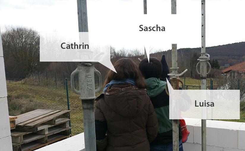 Cathrin, Sascha & Luisa.
