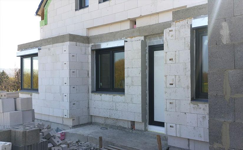 Fenster, Hausfront